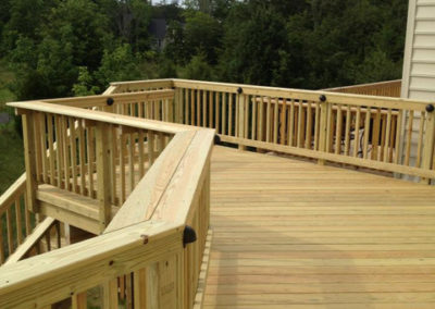 New deck in Loudoun County