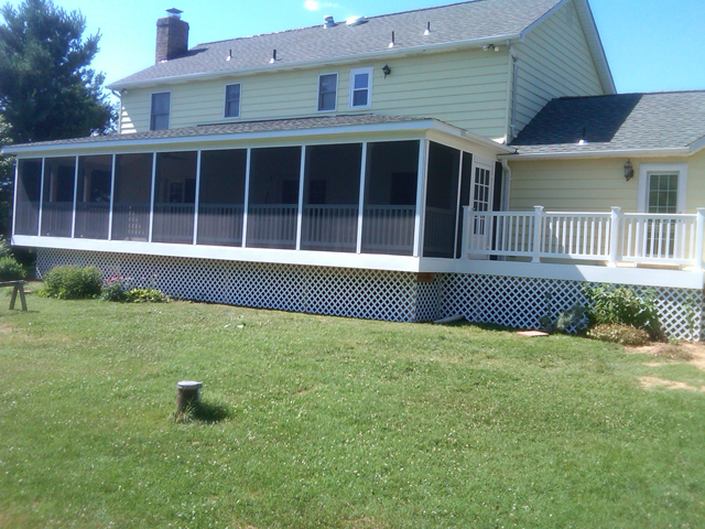 nokeville deck finished