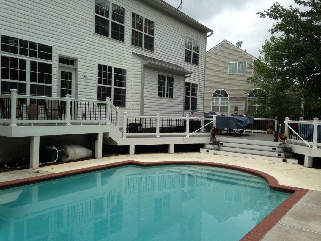 Gainesville Deck around Pool
