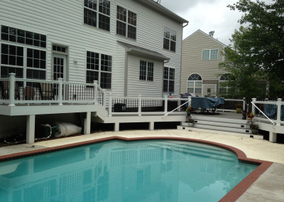 Gainesville Deck around Pool
