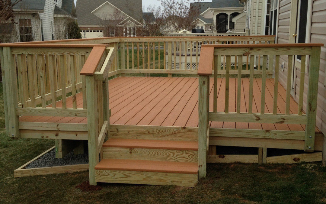 Ranch Home Deck